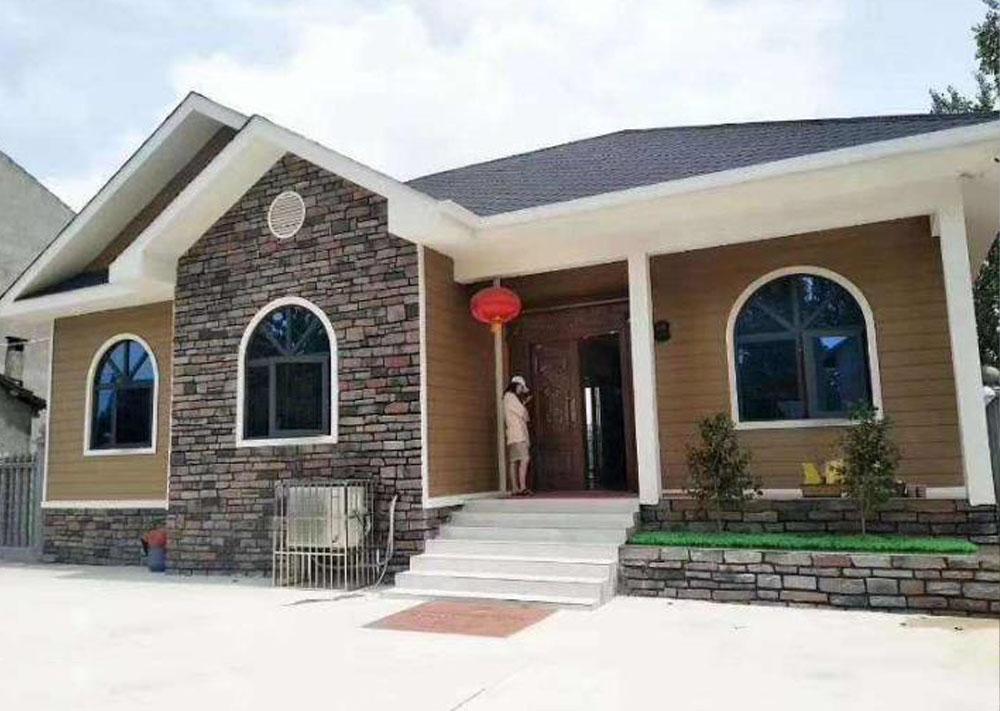 人人居建造西安杨先生一层轻钢房屋小户型