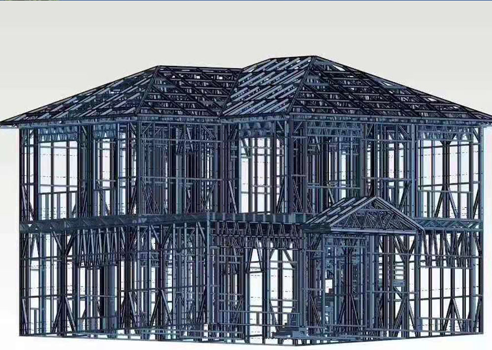 这么漂亮的轻钢结构房屋,还愁找不到媳妇吗