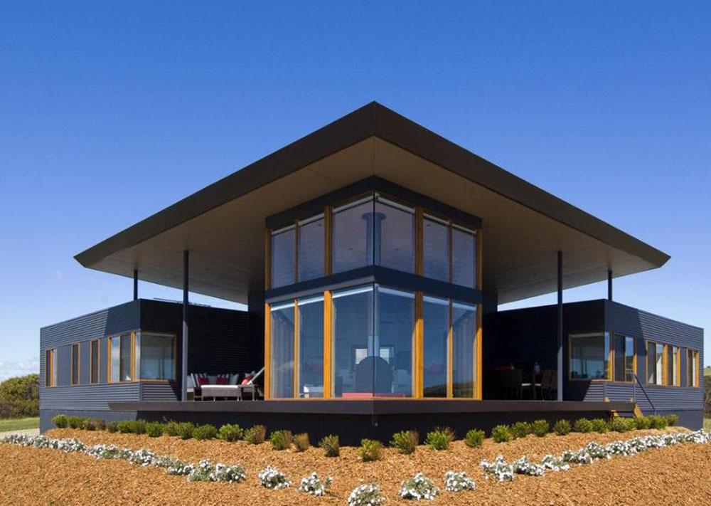 景区轻钢别墅现代大气风格