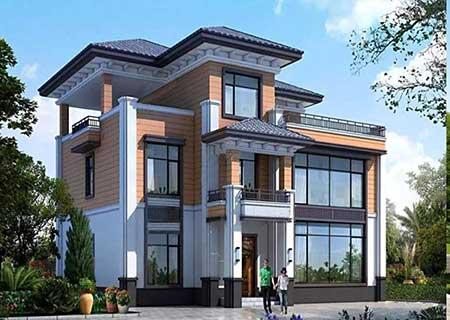 接待中心、服务中心,现代轻钢商用别墅
